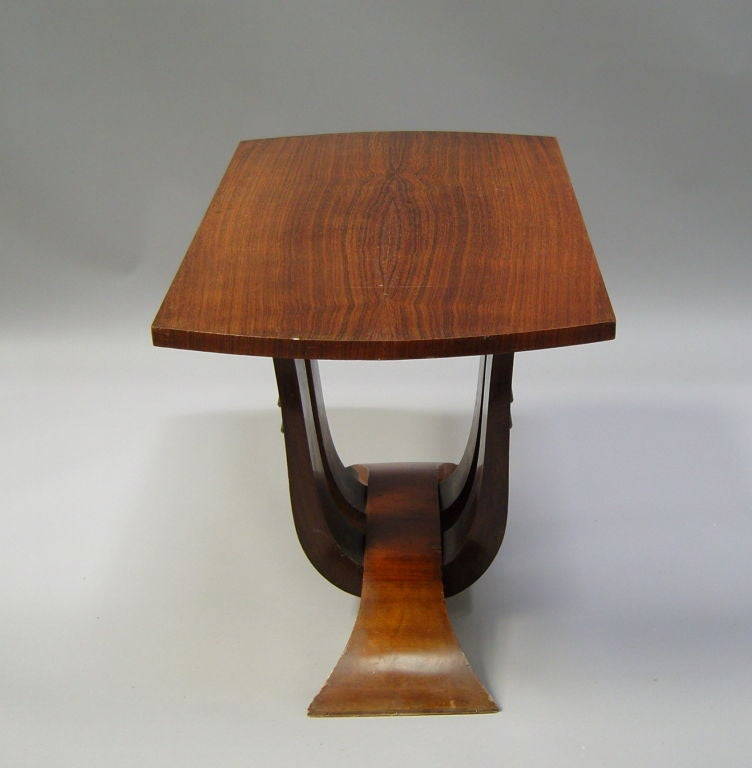 french art deco gueridon or side table at 1stdibs. Black Bedroom Furniture Sets. Home Design Ideas