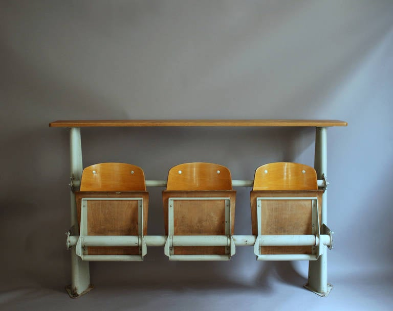 "Jean Prouve ""Amphitheatre Banquette"" Bench For Sale At 1stdibs"