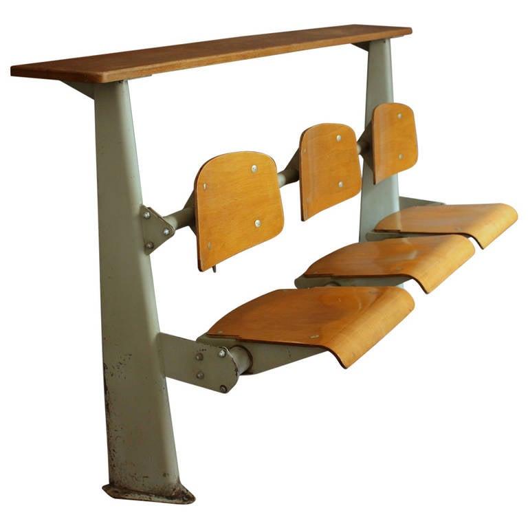 """Préférence Jean Prouve """"Chaise en Bois"""", Wooden Standard Chair, circa 1940  UC09"""
