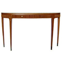 Fine Italian 1950's Console Table by Paolo Buffa