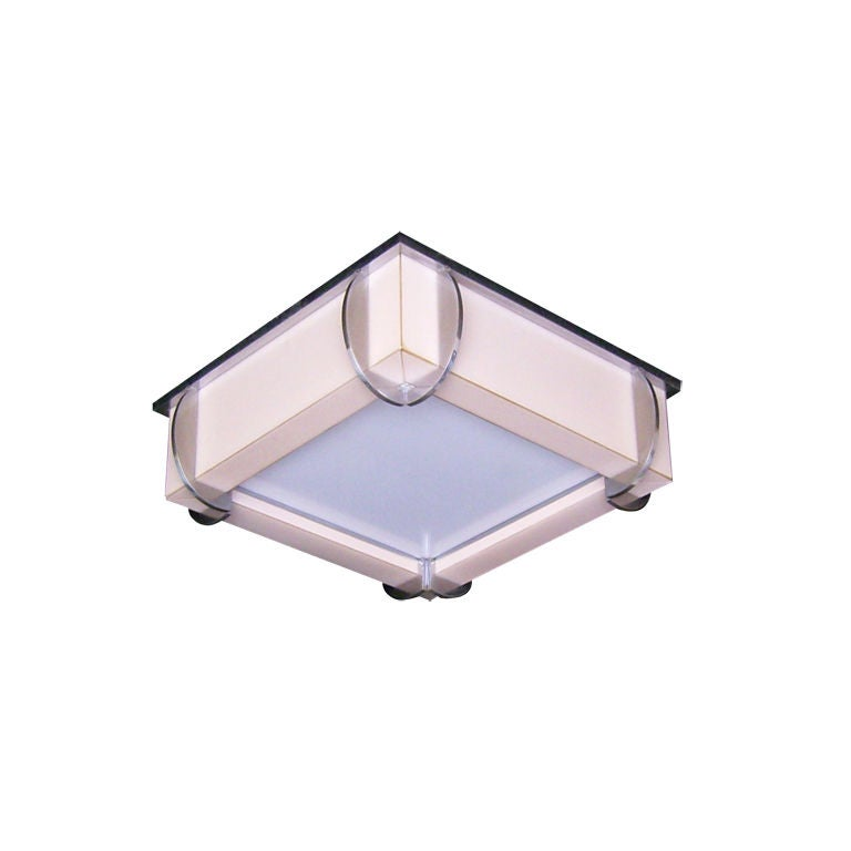 Ceiling Lights Very : Very rare art deco ceiling light by jean perzel at stdibs