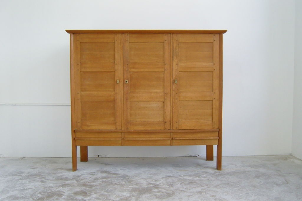 french elm cabinet petite armoire at 1stdibs. Black Bedroom Furniture Sets. Home Design Ideas