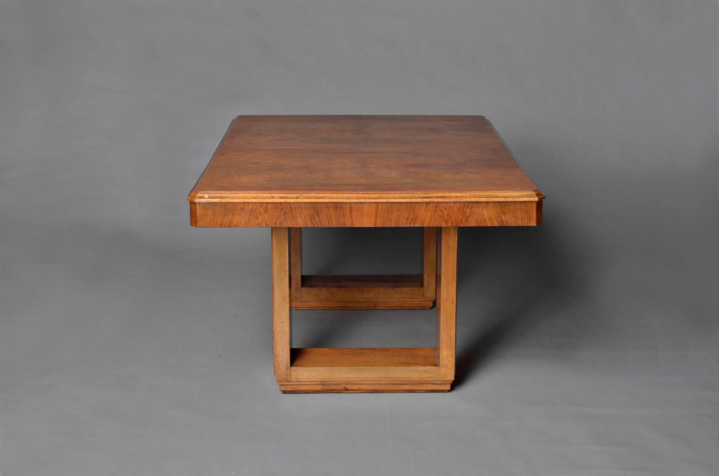 French art deco dining writing table at 1stdibs for Art deco writing