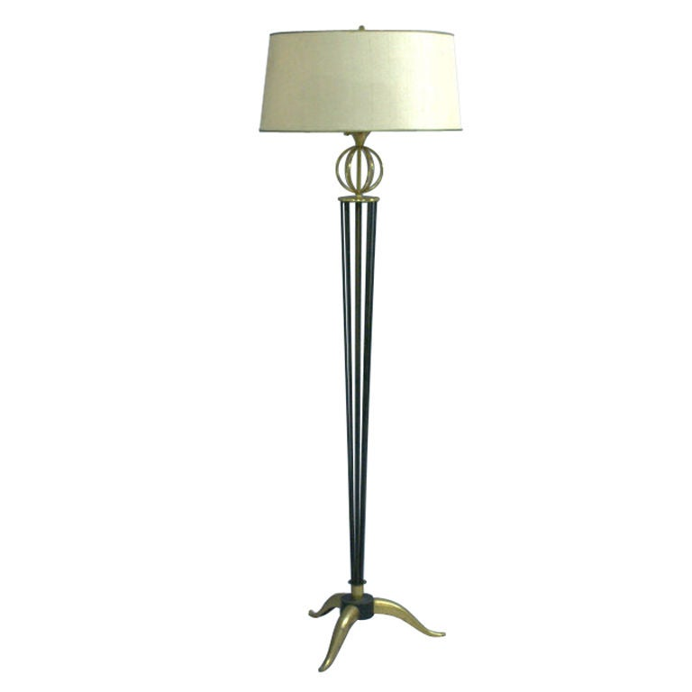 A Fine French 1950's Floor Lamp by Arlus