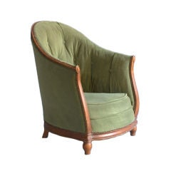 Fine French Art Deco Armchair