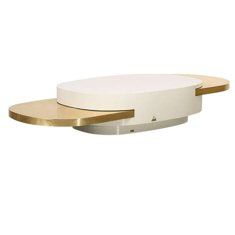 Iconic gabriella crespi elisse low table at 1stdibs for Iconic tables