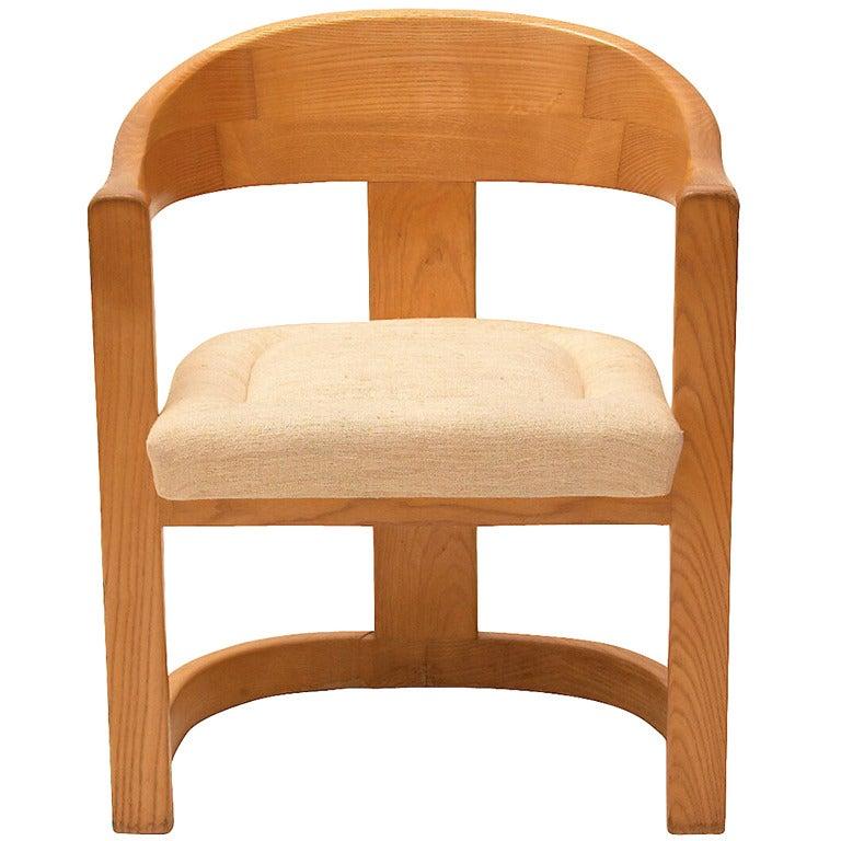 """Karl Springer """"Onassis"""" Chair"""