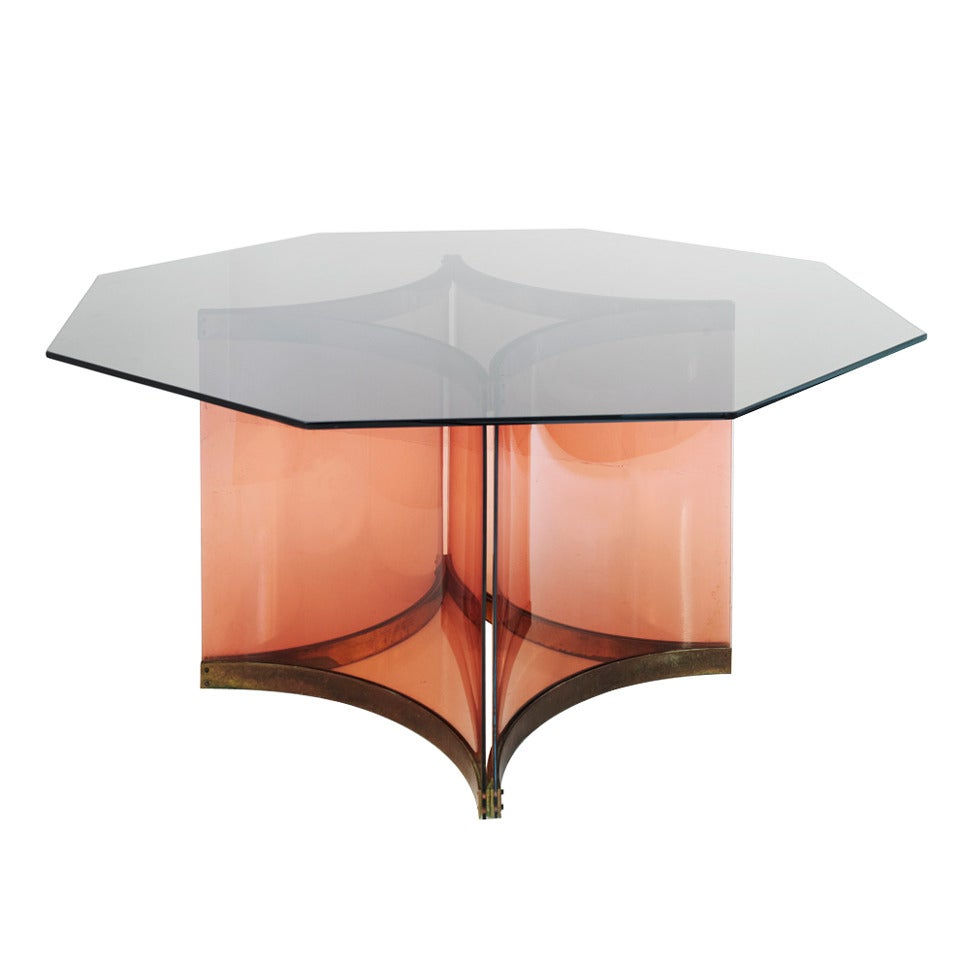 Albrizzi Octagonal Dining Table For Sale
