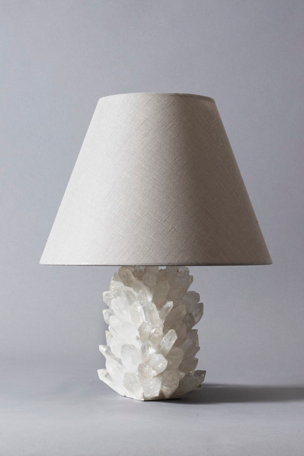 Contemporary Liz O'Brien Editions Crystal Lamp For Sale