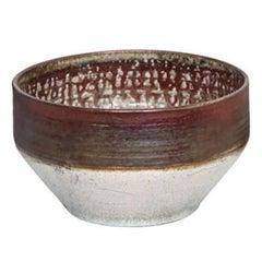 Deborah Slahta Raku Bowl