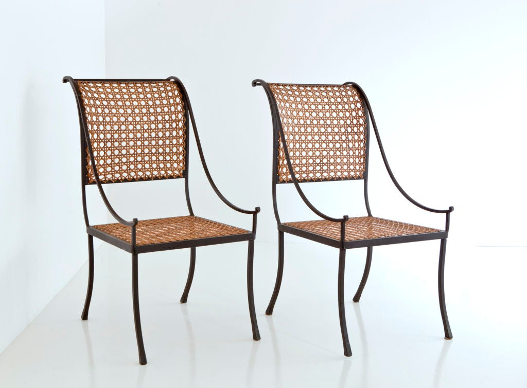 This John Vesey Pair of Wrought Iron Chairs is no longer available.