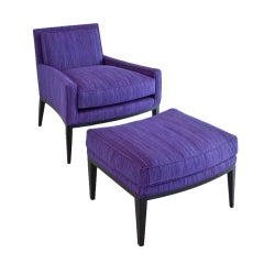 Liz O'Brien Editions Billy Chair and Ottoman