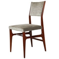 Elegant Desk/ Side Chair by Gio Ponti for Cassina