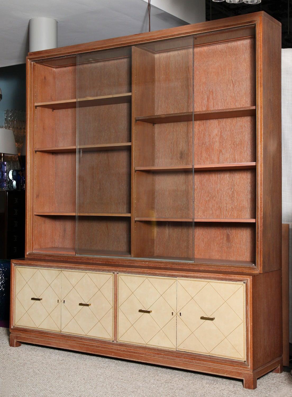 Mid-Century Modern Grosfeld House Bookcase For Sale