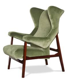 """Rare """"Fiorenza"""" Armchair by Franco Albini for Arflex"""