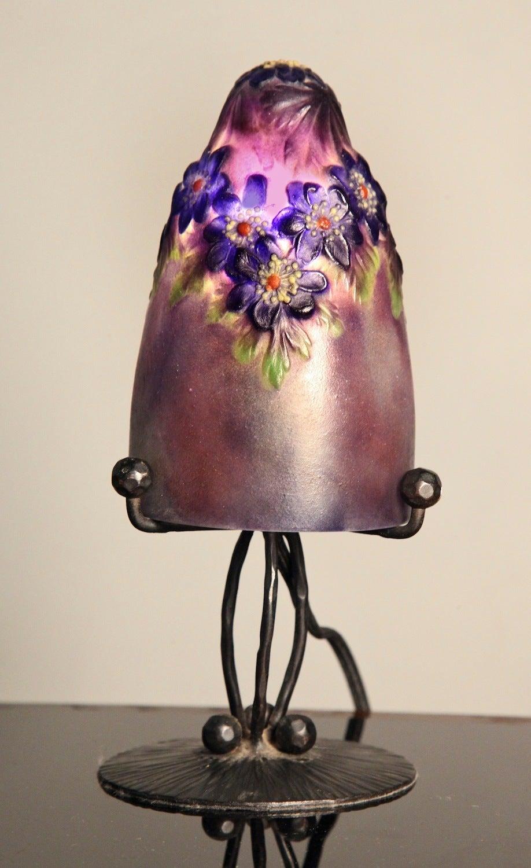 Petite p te de verre table lamp by gabriel argy rousseau at 1stdibs - Petite table en verre ...