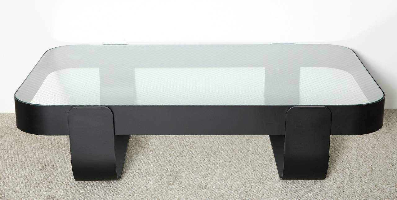 "Mid-Century Modern ""Jobim 276,"" Large-Scale, Limited Edition Cocktail Table by Ghiora Aharoni For Sale"