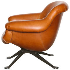 Angelo Mangiarotti Lounge Chair