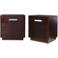 Pair of Bedside Tables by Harvey Probber