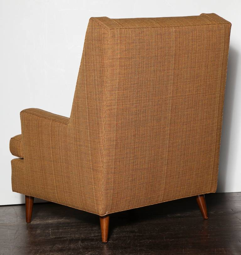 Mid-Century Modern Edward Wormley Lounge Chair For Sale