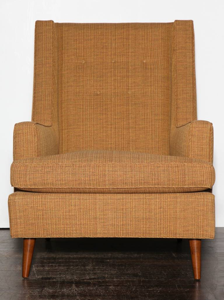 American Edward Wormley Lounge Chair For Sale