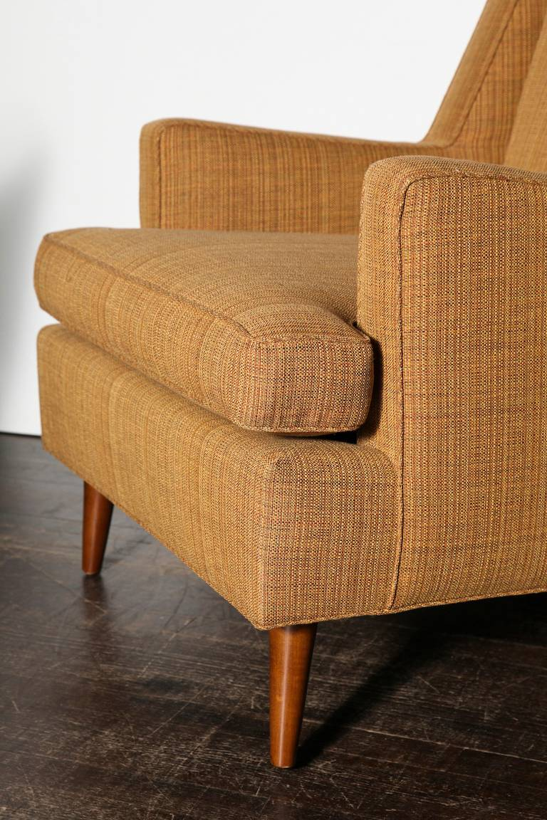 Edward Wormley Lounge Chair In Excellent Condition For Sale In New York, NY