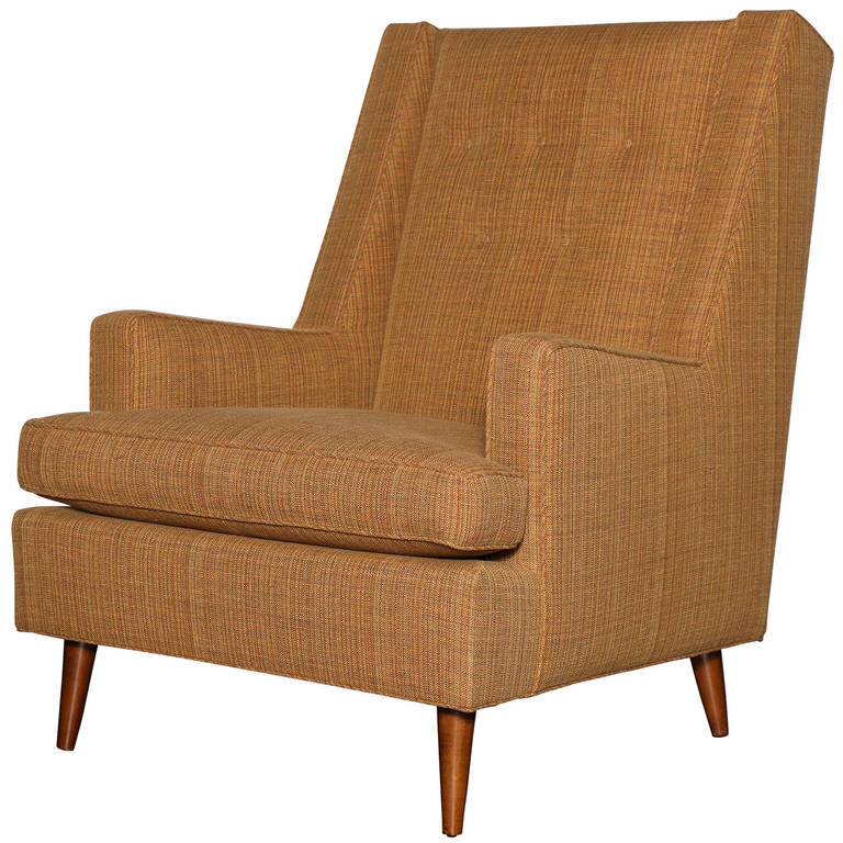 Edward Wormley Lounge Chair For Sale