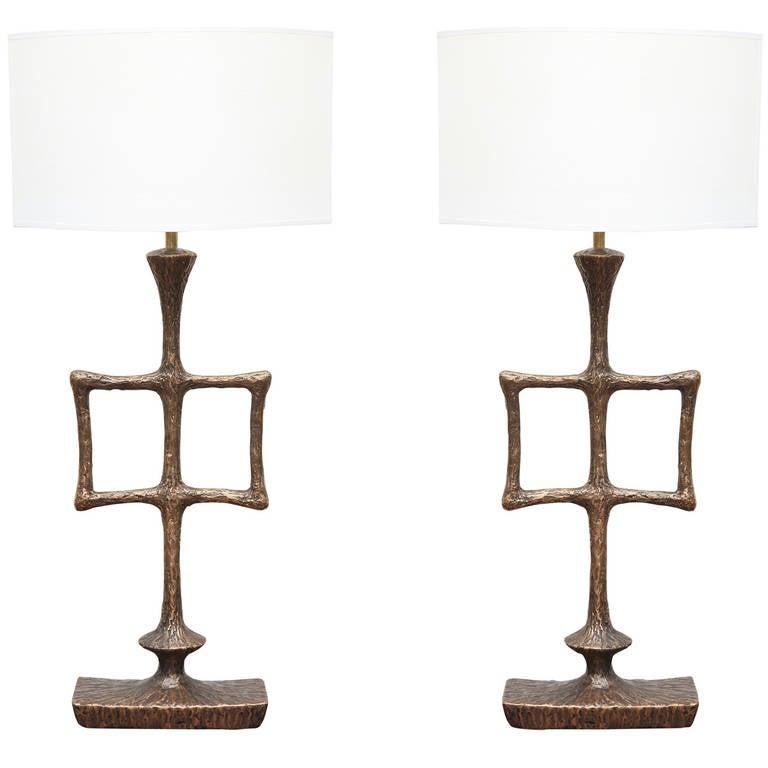 Alexandre Logé Table Lamps