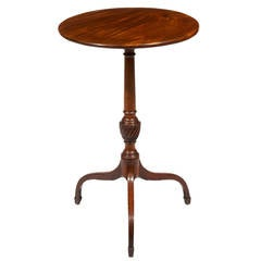 18th Century Circular Mahogany Occasional Table