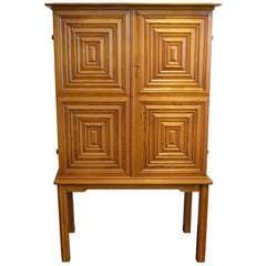 Raised Cabinet in Oak by Oscar Nilsson