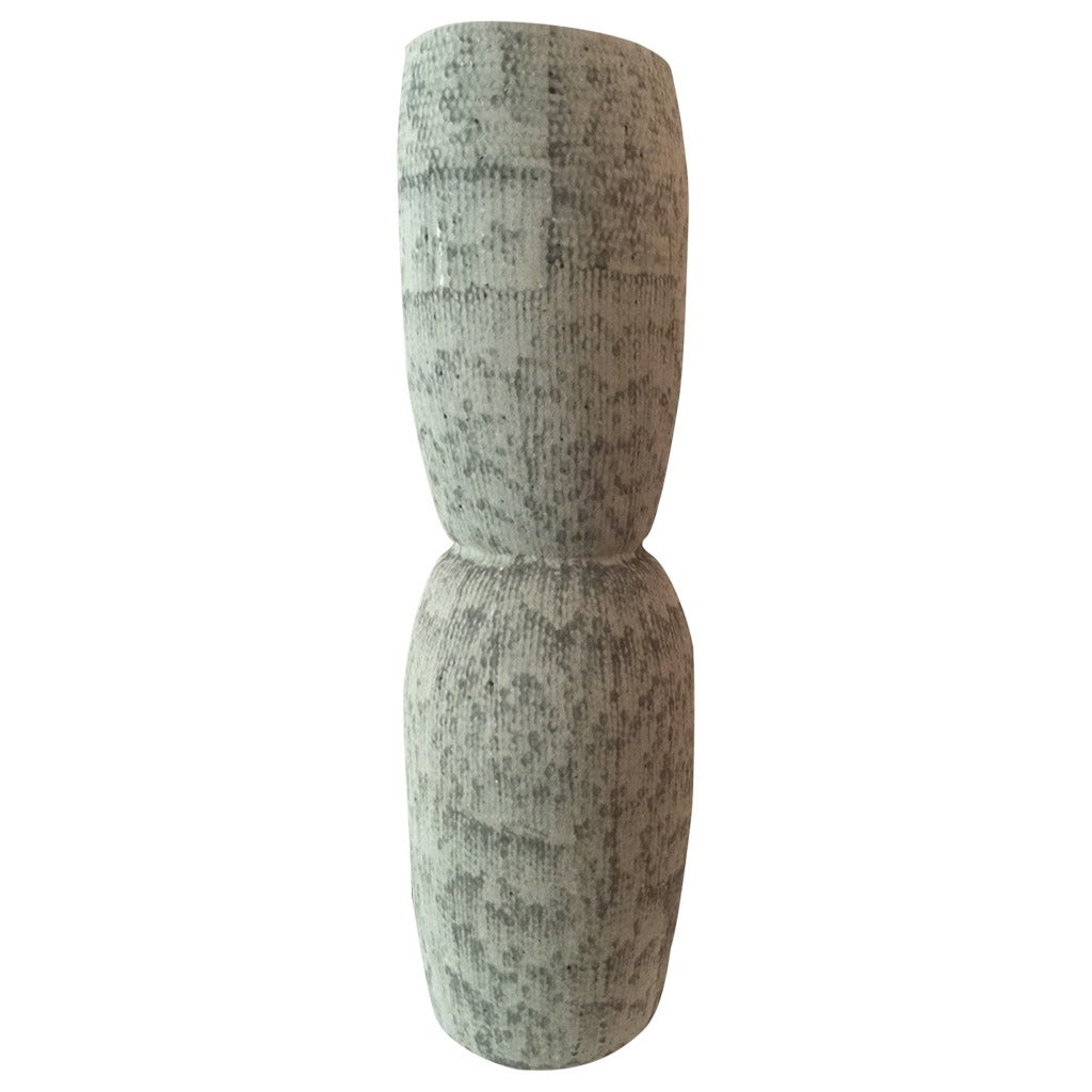 Kristina Riska Ceramic Floor Vase, Finland, 2015 For Sale
