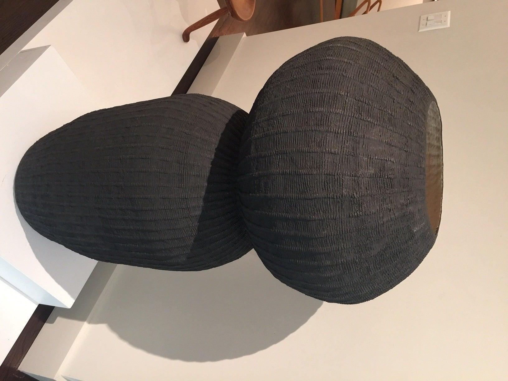 Hand-Crafted Kristina Riska Ceramic Floor Urn, 2015 For Sale