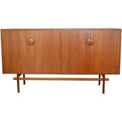 Danish Teak Credenza by Edvard and Tove Kindt for Larsen
