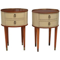Night Stands or Side Tables, Sweden circa 1950