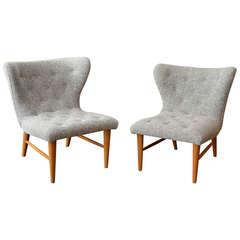 Pair of Swedish Chairs by Elias Svedberg