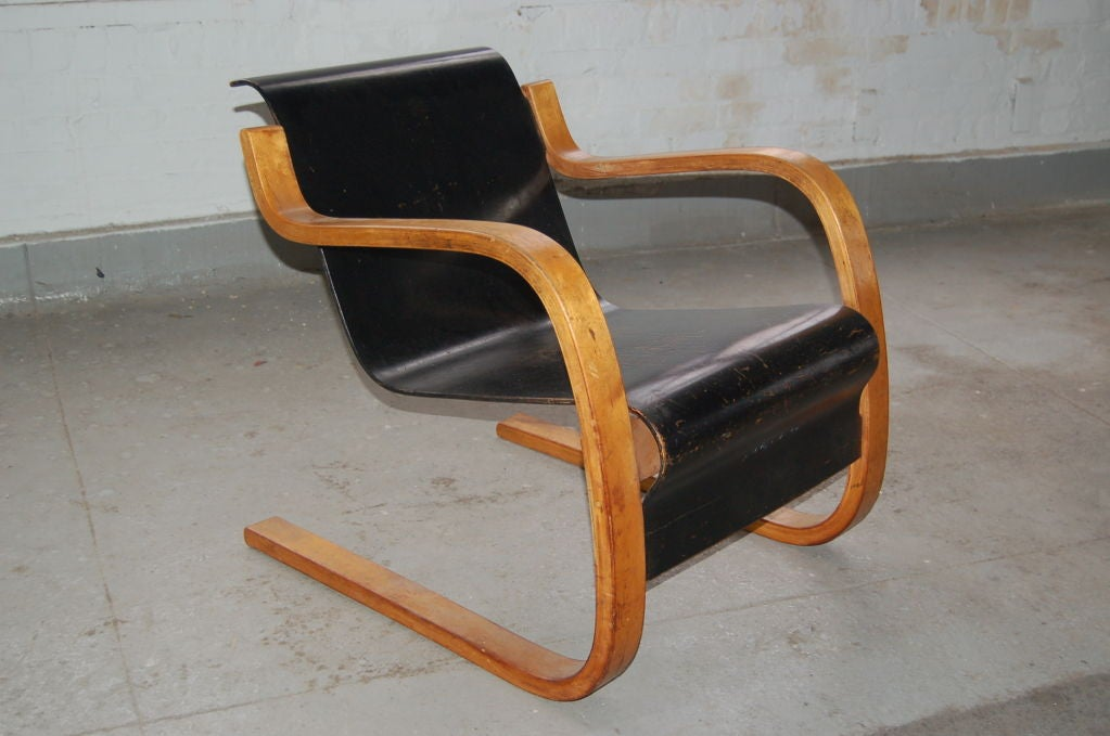 Cantilever Lounge Chair By Alvar Aalto At 1stdibs
