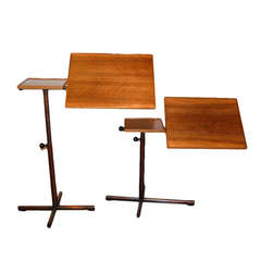 Adjustable Side Table, by Embru