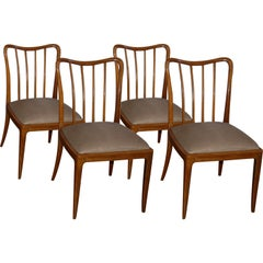Set of Four Chairs by Josef Frank