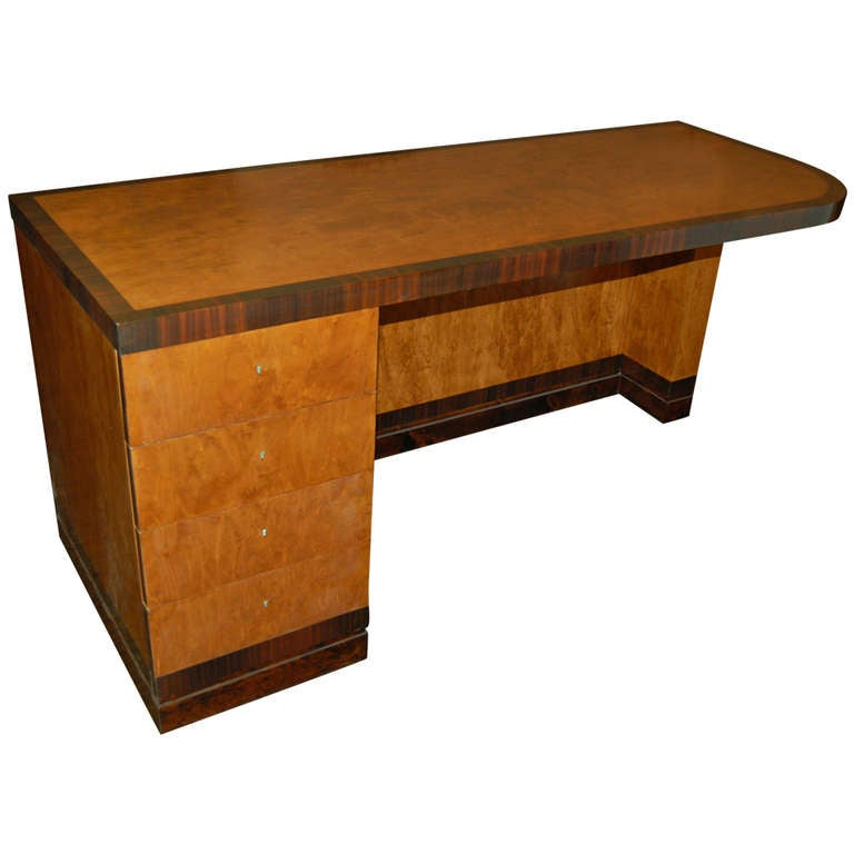 Desk by Axel Einar Hjorth, Sweden, circa 1930