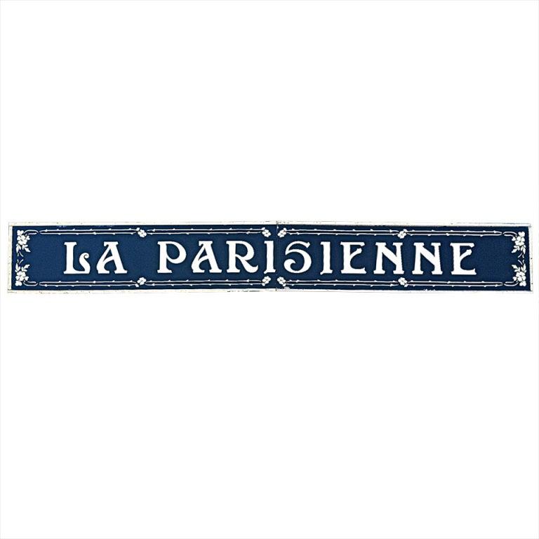 iconic la parisienne shop sign at 1stdibs. Black Bedroom Furniture Sets. Home Design Ideas