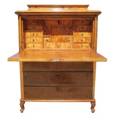 Biedermeier Drop Front Secretary from Aileen Getty Collection