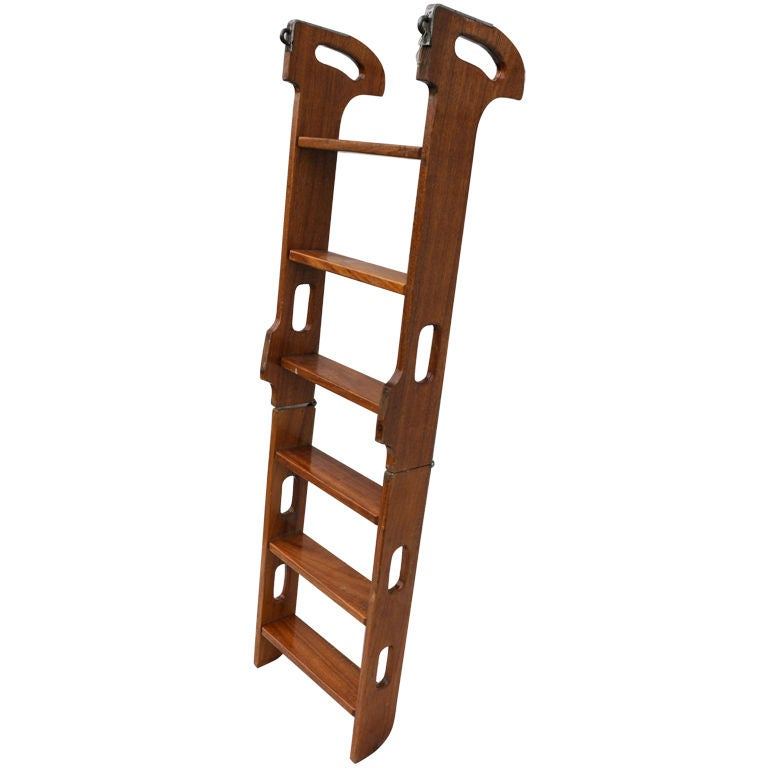 Folding Ships Ladder At 1stdibs