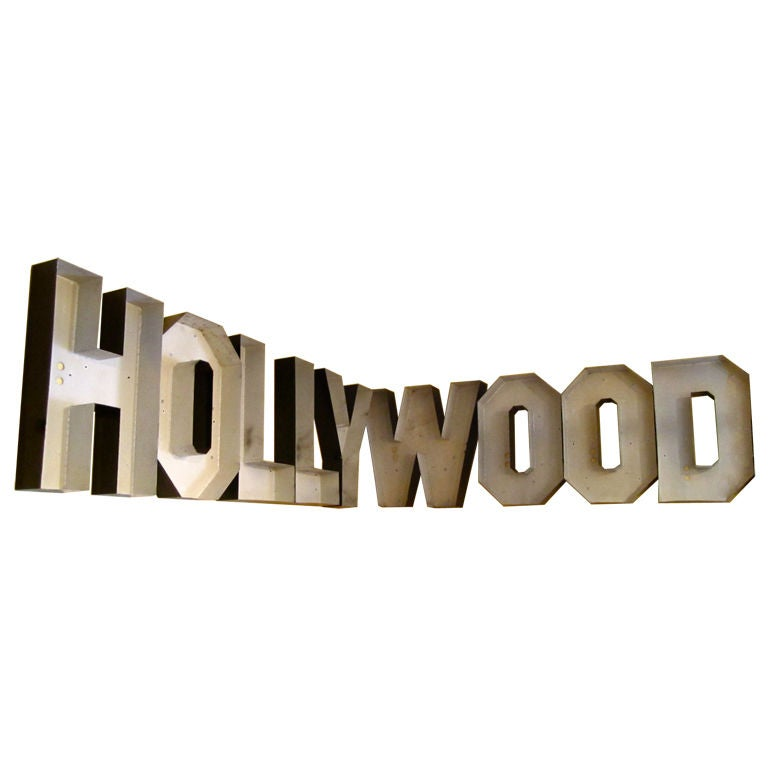 Your Own Personal Hollywood Sign