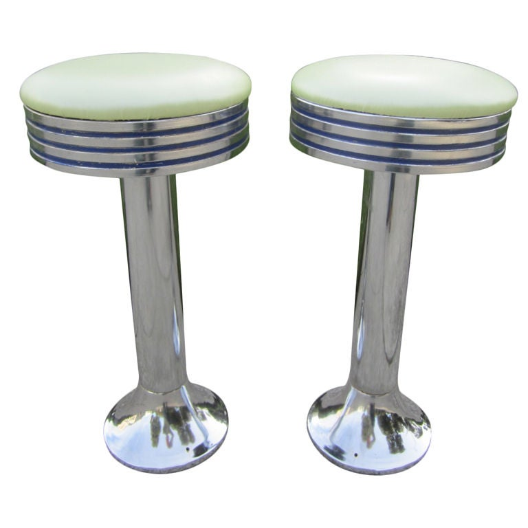 Mid Century Soda Fountain Stool At 1stdibs