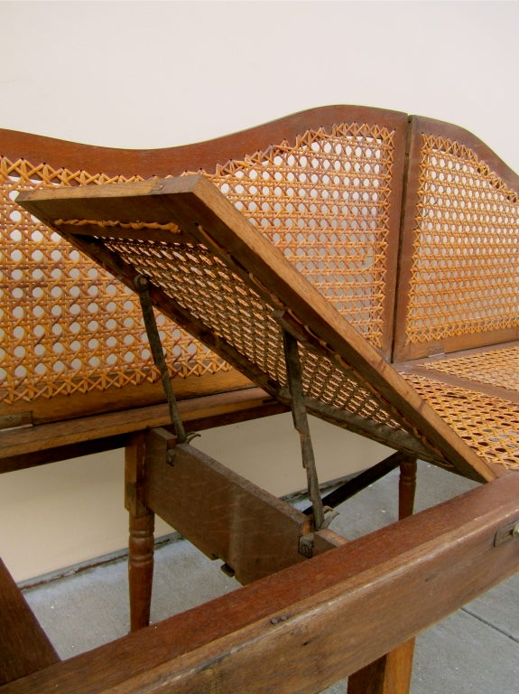 Collapsible and Portable Campaign Bench and Lounge 3