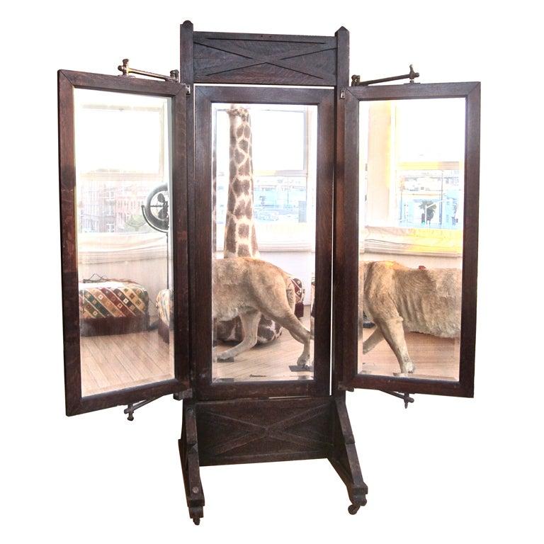 Late 19th Century Men S Dressing Mirror At 1stdibs