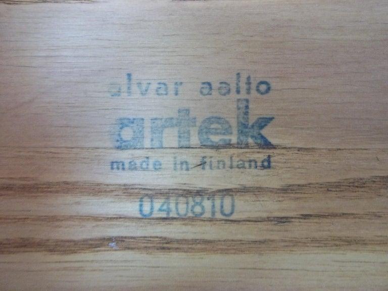 Alvar Aalto Stool X600 At 1stdibs