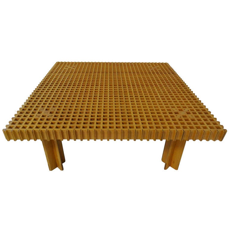 Kyoto Table By Gianfranco Frattini For Knoll At 1stdibs