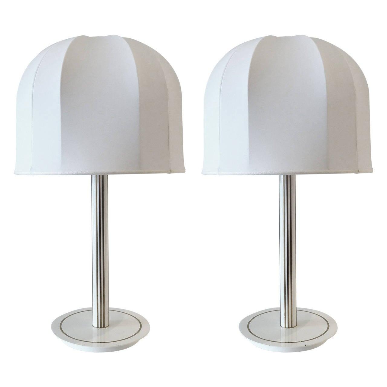 Pair of Lamps Attributed to Antonio Pavia