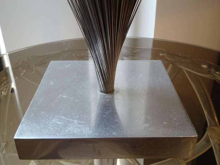 American Bertoia Style Sculpture For Sale